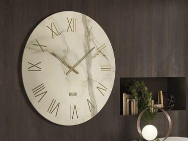 Orologio in vetro serigrafato da parete PORTOFINO