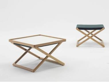 Table basse rectangulaire en bois avec plateau PORTOFINO | Table basse