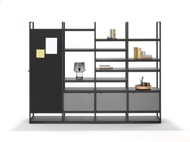 Open tall office shelving PORTS STORAGE | Office shelving