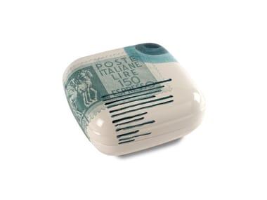 Contenitore in ceramica POSTCARD SCATOLA GRANDE QUADRATA