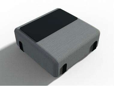 Pouf quadrato in tessuto MIAMI | Pouf