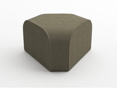 Modular fabric pouf MODULIA | Pouf