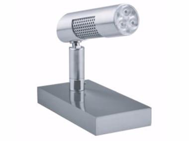 Lampada da tavolo a LED orientabile in metallo POWER | Lampada da tavolo