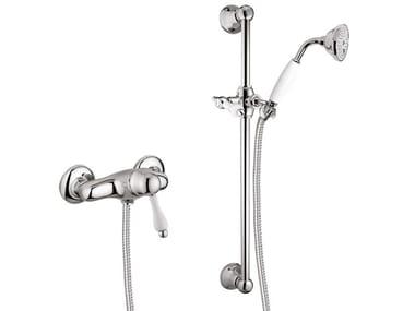 Single handle shower tap with hand shower PRAGAMIX - PRAGAMIX CRYSTAL - F7524WS