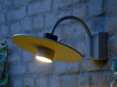 Lampada da parete per esterno a luce diretta in alluminio PRATO