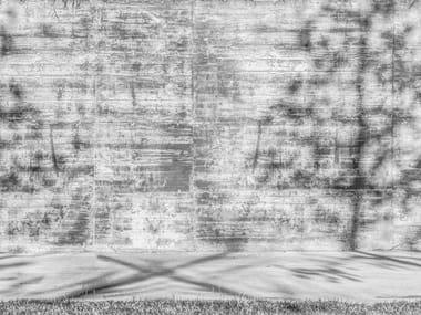 Papel de parede ecológico lavável livre de PVC estilo industrial PRESENZE RIFLESSE