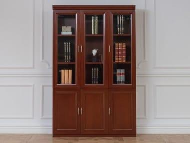 Modular wood fibre bookcase PRESTIGE C630 | Bookcase