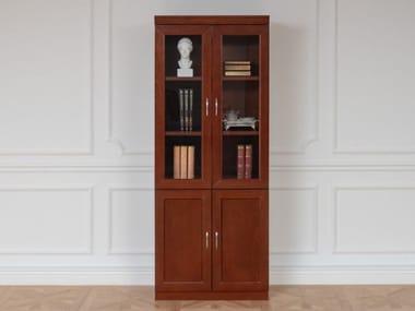 Modular wood fibre bookcase PRESTIGE C720 | Bookcase
