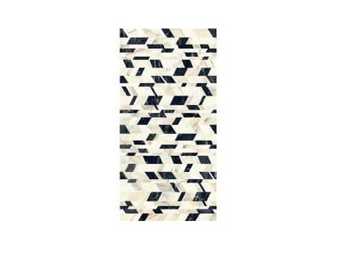 Pavimento/rivestimento in gres porcellanato effetto marmo PRESTIGE CHAOS WARM
