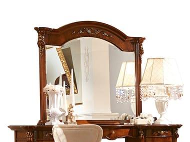 Countertop framed wooden mirror PRESTIGE | Mirror