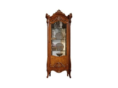 Wooden display cabinet PRESTIGE PLUS | Display cabinet