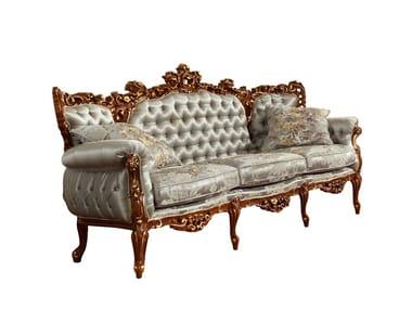 Tufted fabric sofa PRESTIGE PLUS | Sofa