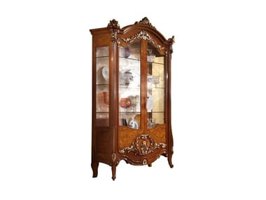 Wooden display cabinet PRESTIGE PLUS | Wooden display cabinet