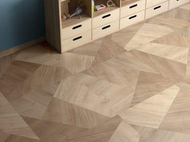 Pavimento/rivestimento in gres porcellanato effetto legno PRIMEWOOD MIX