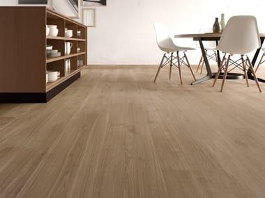 Pavimento/rivestimento in gres porcellanato effetto legno PRIMEWOOD NUT
