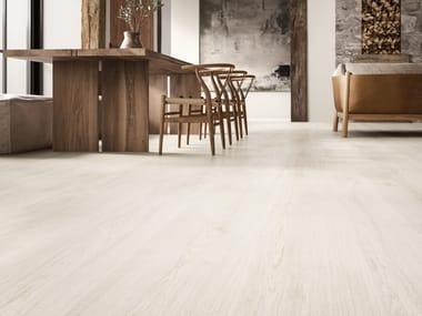 Pavimento/rivestimento in gres porcellanato effetto legno PRIMEWOOD WHITE