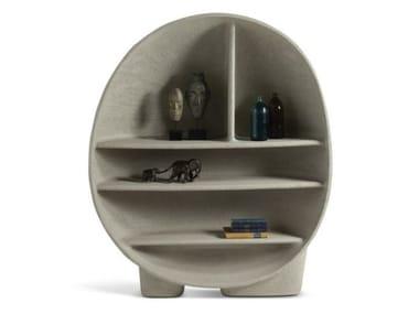 Polyurethane bookcase PRIMORDIAL