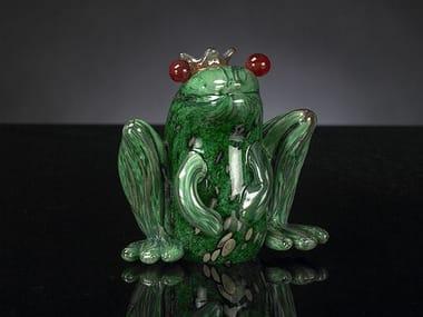 Glass decorative object PRINCE FROG