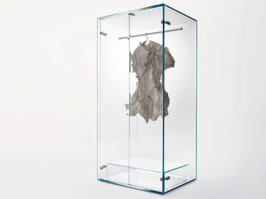 Armadio in cristallo PRISM GLASS WARDROBE