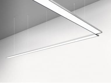 LED direct light pendant lamp PAD SYSTEM