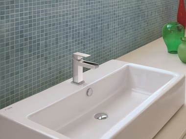 Miscelatore per lavabo monocomando monoforo ERGO OPEN | Miscelatore per lavabo