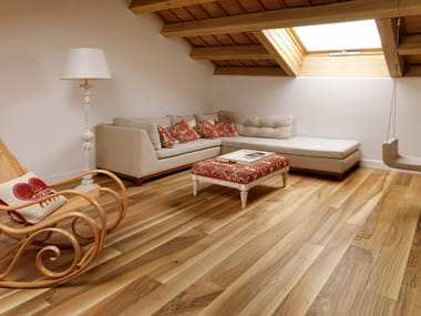 European Walnut Planed wood floor PREGIO PLANKS | Walnut parquet