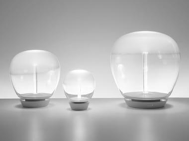 Candeeiro de mesa LED de vidro soprado EMPATIA | Candeeiro de mesa
