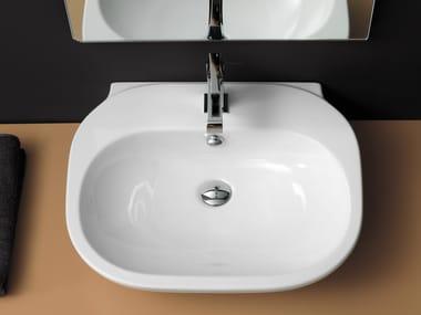 Lavabo da appoggio rettangolare singolo LAVABI | Lavabo da appoggio