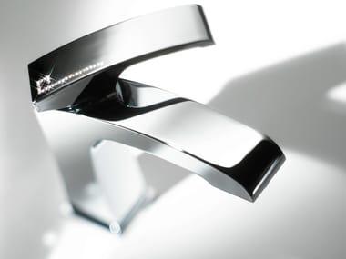 Single handle washbasin mixer with Swarovski® crystals X-SENSE | Washbasin mixer