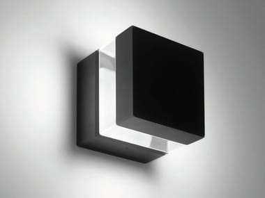 Lampada da parete per esterno a LED TETRAGONO | Lampada da parete per esterno