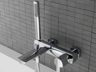 Miscelatore per vasca a muro in acciaio TANGO | Miscelatore per vasca