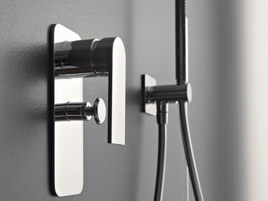 Shower mixer with hand shower 100 | Shower mixer