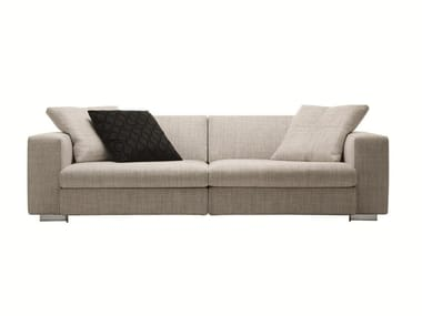 Sectional recliner fabric sofa TURNER