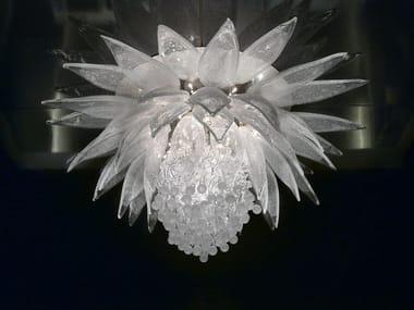Lampada da soffitto in cristallo LOTUS FLOWER