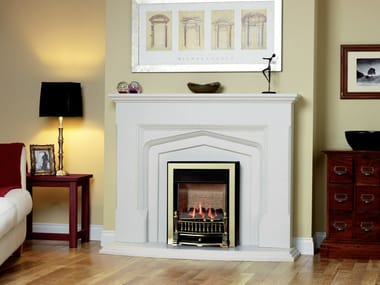 Gas wall-mounted fireplace ENVIRON