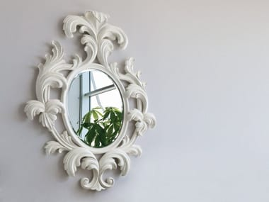 Wall-mounted framed mirror Mirror