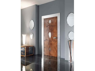 Hinged wooden door SIDNEY | Wooden door