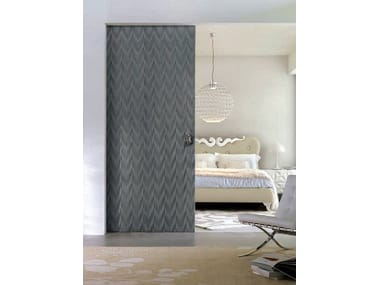 Lacquered sliding door MAORI | Sliding door