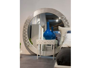 Wall-mounted framed round mirror 292 | Mirror