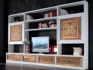 Pareti attrezzate in legno massello | Archiproducts