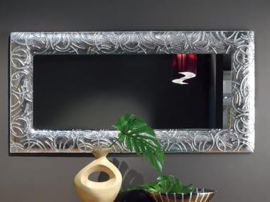 Rectangular wall-mounted framed mirror ELETTRA DAY | Mirror