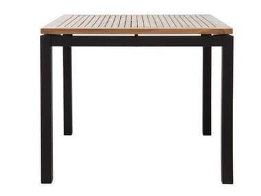 Square garden table LUI | Square garden table