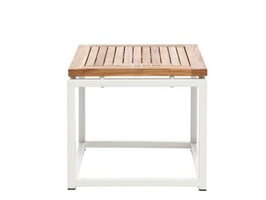 Low Square garden side table LEI | Square garden side table