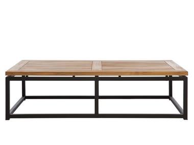 Low Rectangular garden side table LUI | Rectangular garden side table