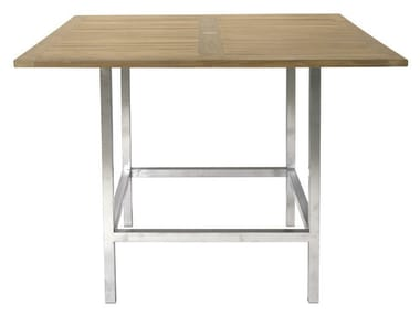 Square garden table HALTO | Garden table