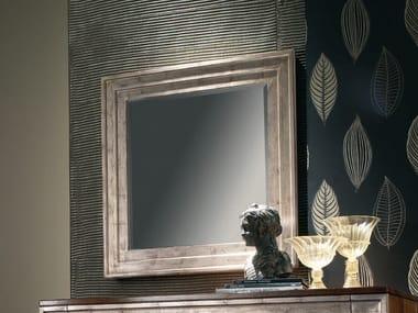 Wall-mounted framed rectangular silver leaf mirror ÉTOILE NIGHT | Mirror