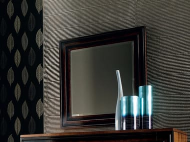 Wall-mounted framed rectangular mirror ÉTOILE NIGHT | Framed mirror