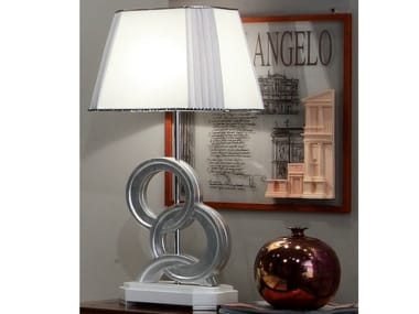 Silver leaf bedside lamp ÉTOILE NIGHT | Bedside lamp