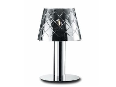 Glass table lamp CLEAR