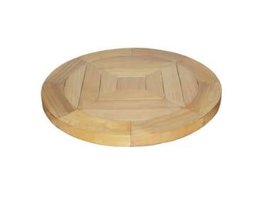 Wooden tray LAZY SUSAN | Teak tray